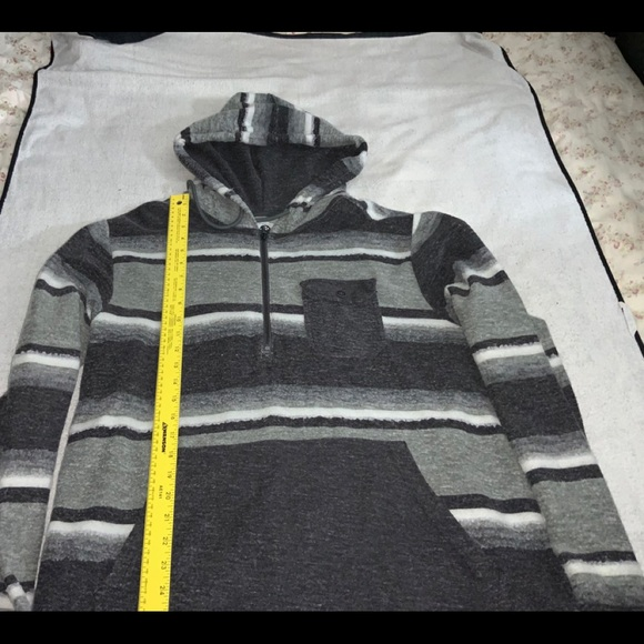 BILLABONG Long Sleeve Hoodie Used Flannel Mens XL